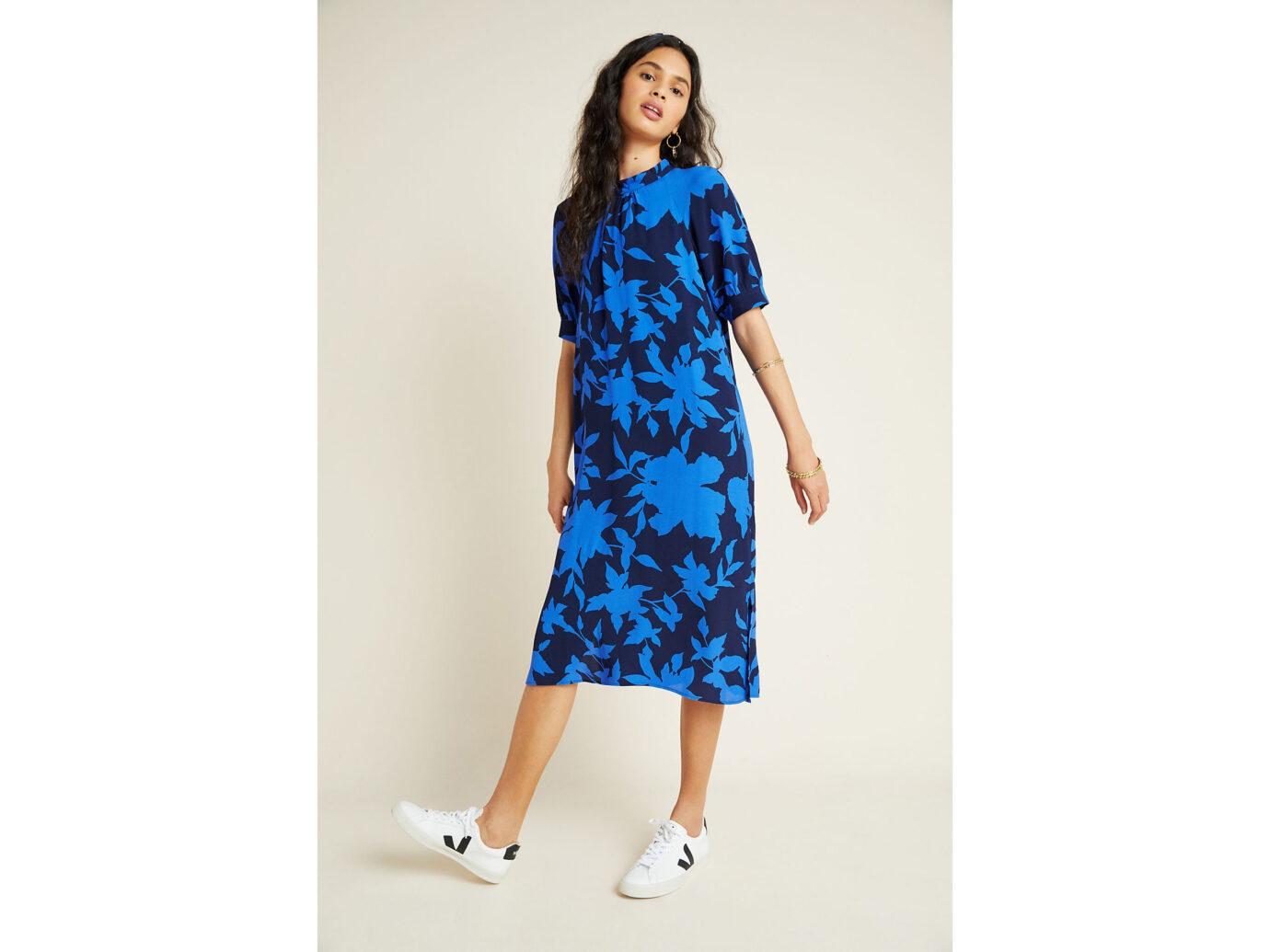 Mackenzie Mock Neck Tunic Dress