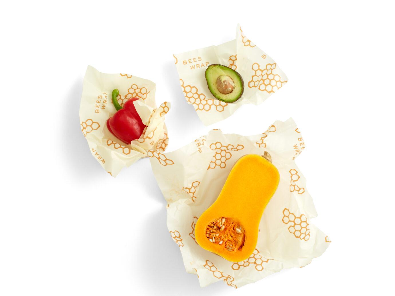 Bees Wrap Reusable Beeswax Food Wraps