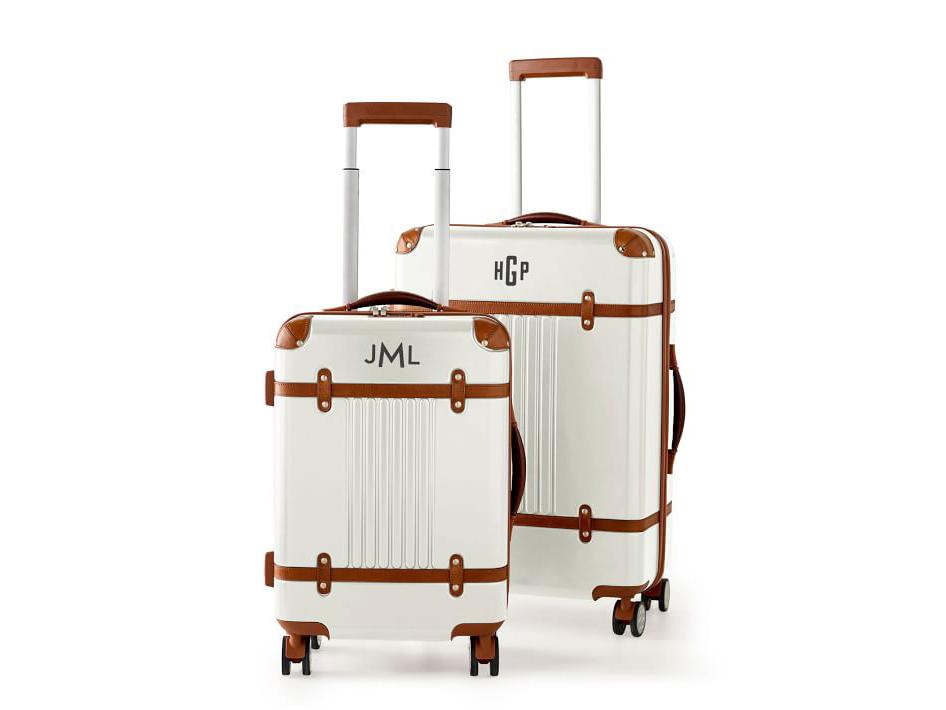 Mark and Graham Terminal 1 Monogrammed Luggage Set