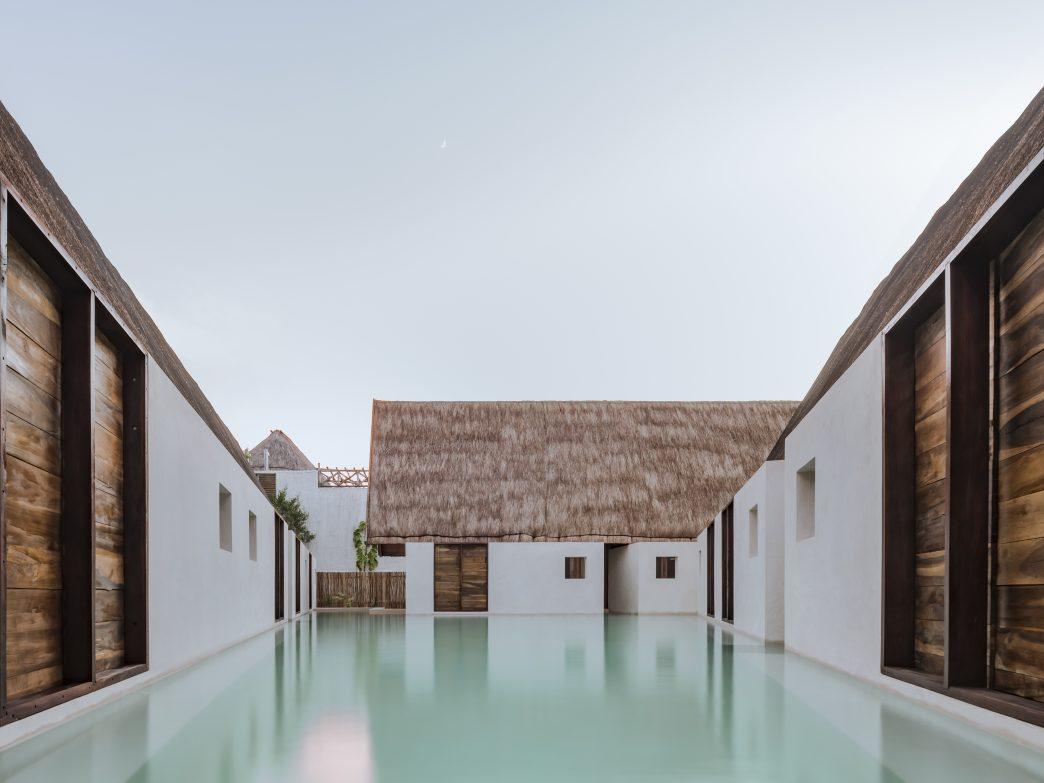 Pool at Punta Caliza, Isla Holbox