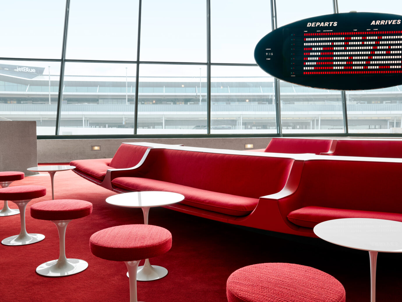 TWA Hotel seating