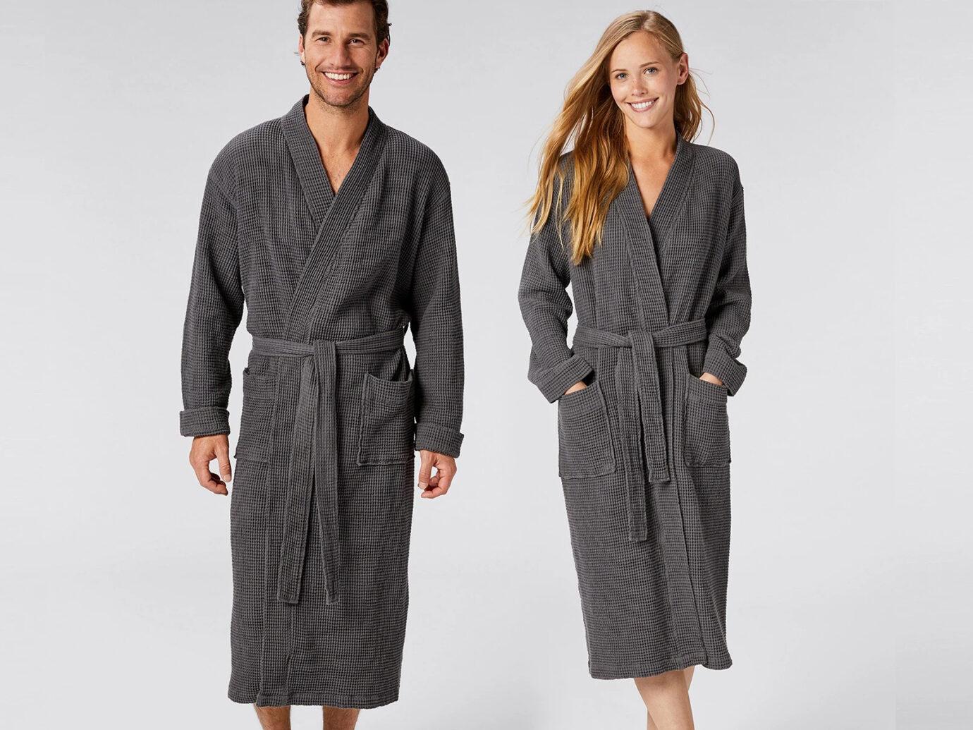 Robe: Coyuchi Unisex Organic Waffle Robe