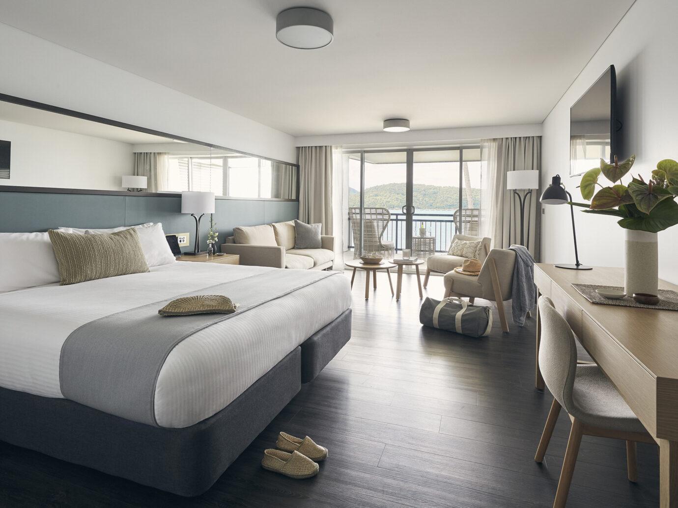 Deluxe Ocean Terrace at Daydream Island