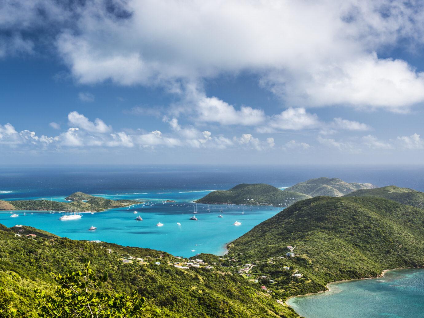 Virgin Gorda in the British Virgin Islands of the Carribean.