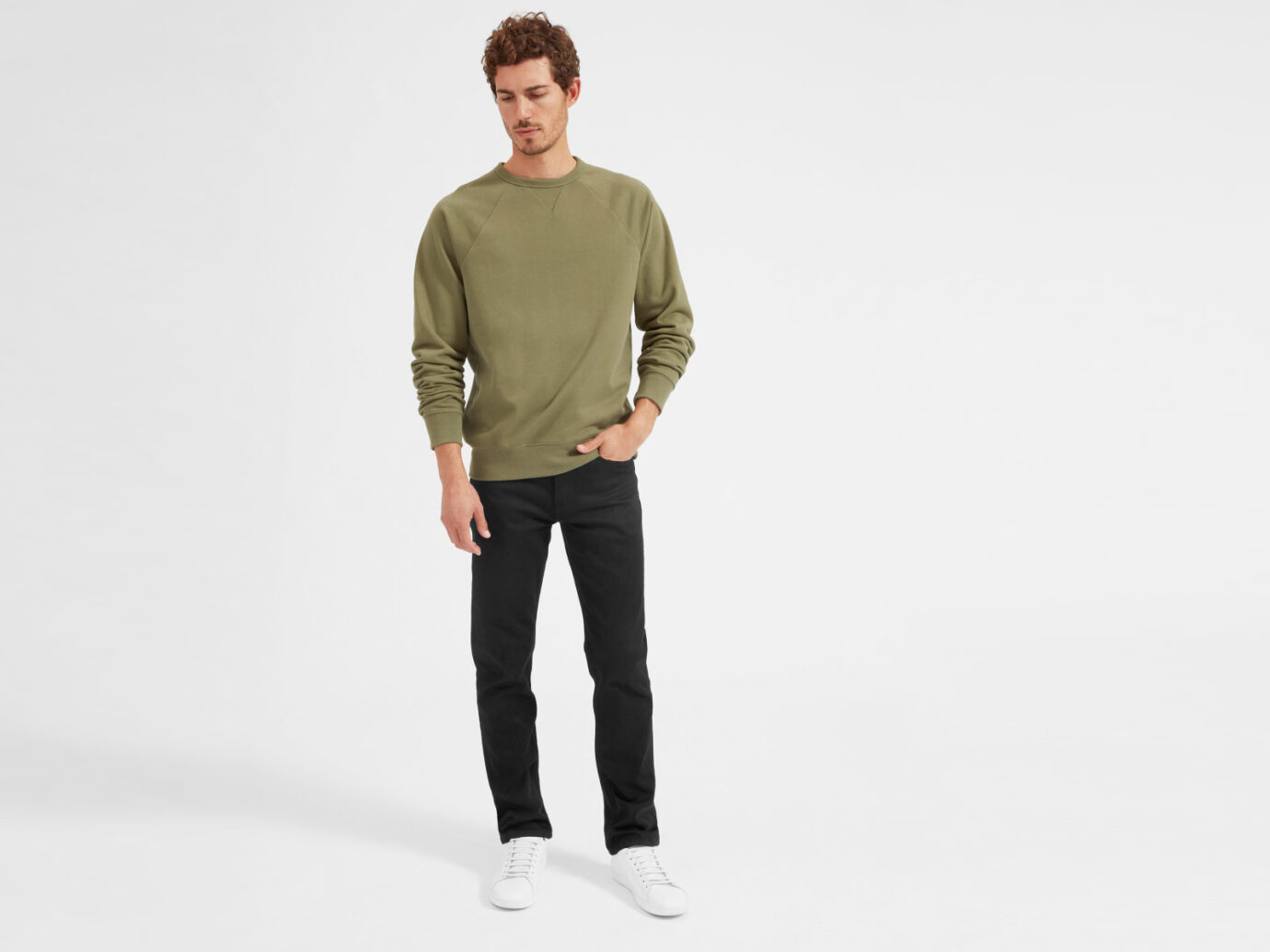The Straight Fit Jean