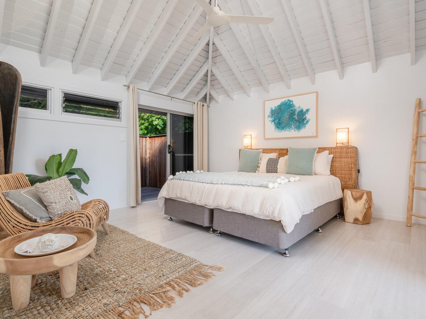 Bedroom at Elysian Retreat