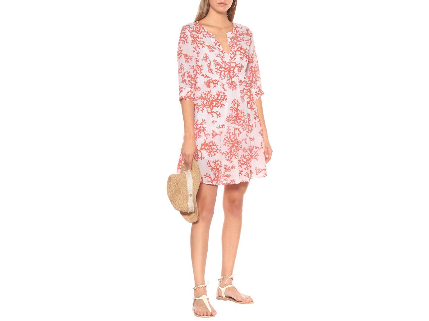 Heidi Klein Belize Printed Silk Mini Dress