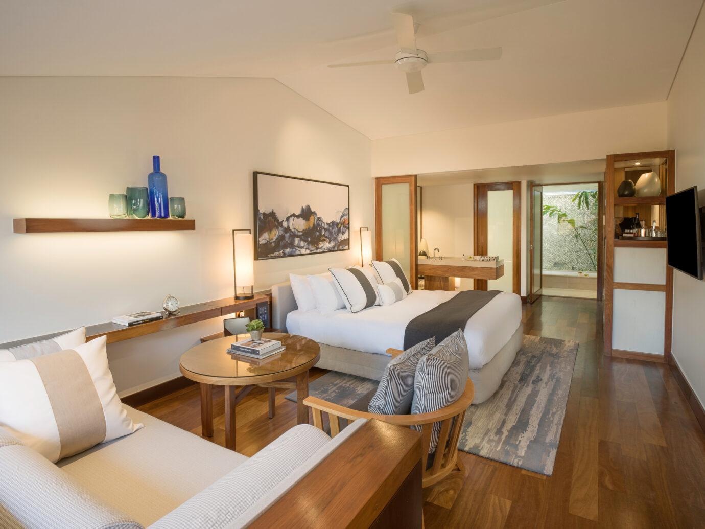 Bedroom at Hayman Island Resort