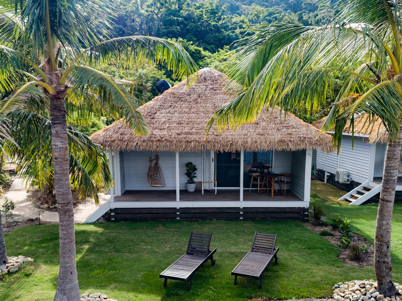 Villa exterior at Elysian Retreat