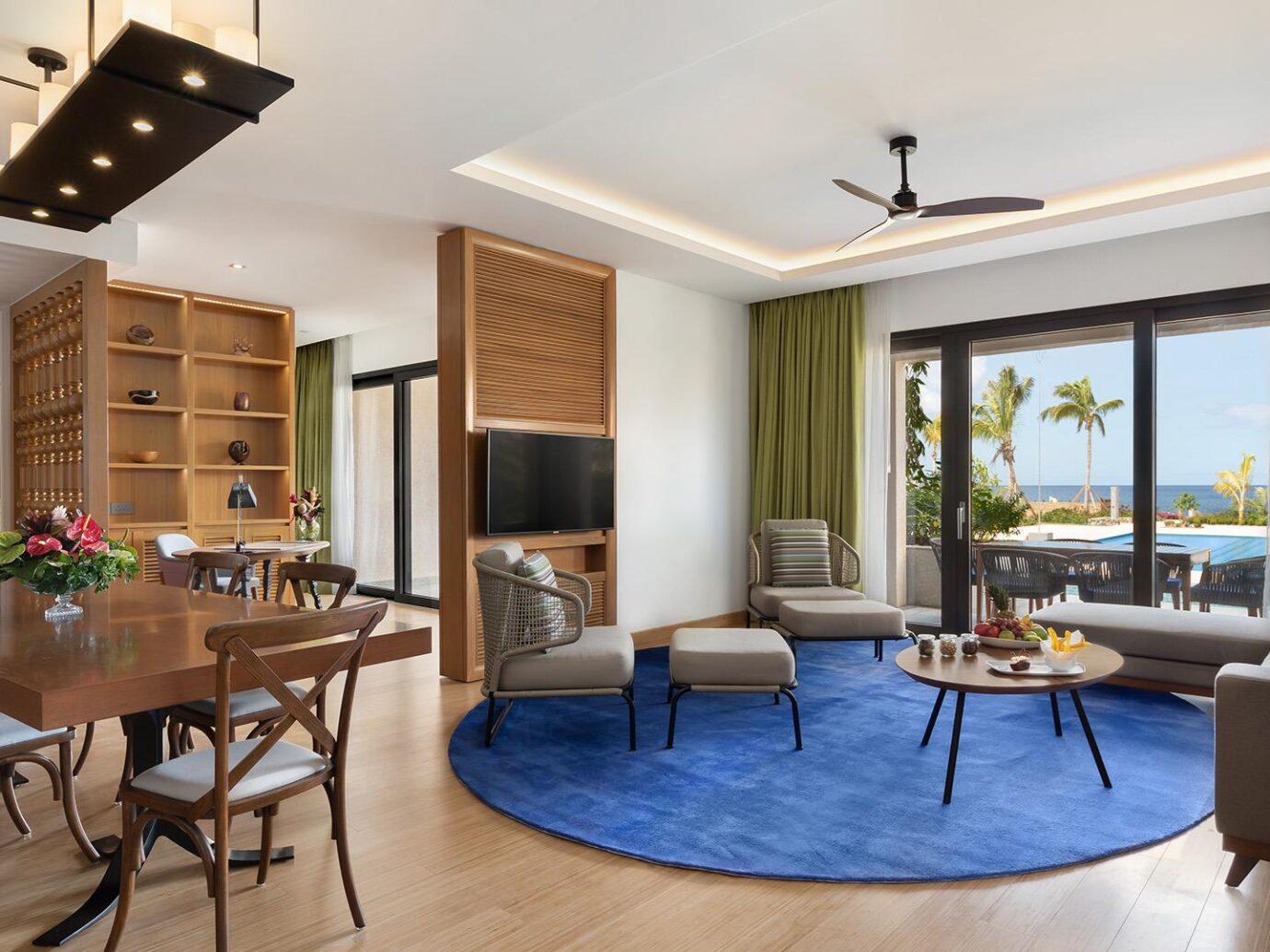 Living room at Cabrits Resort & Spa Kempinski