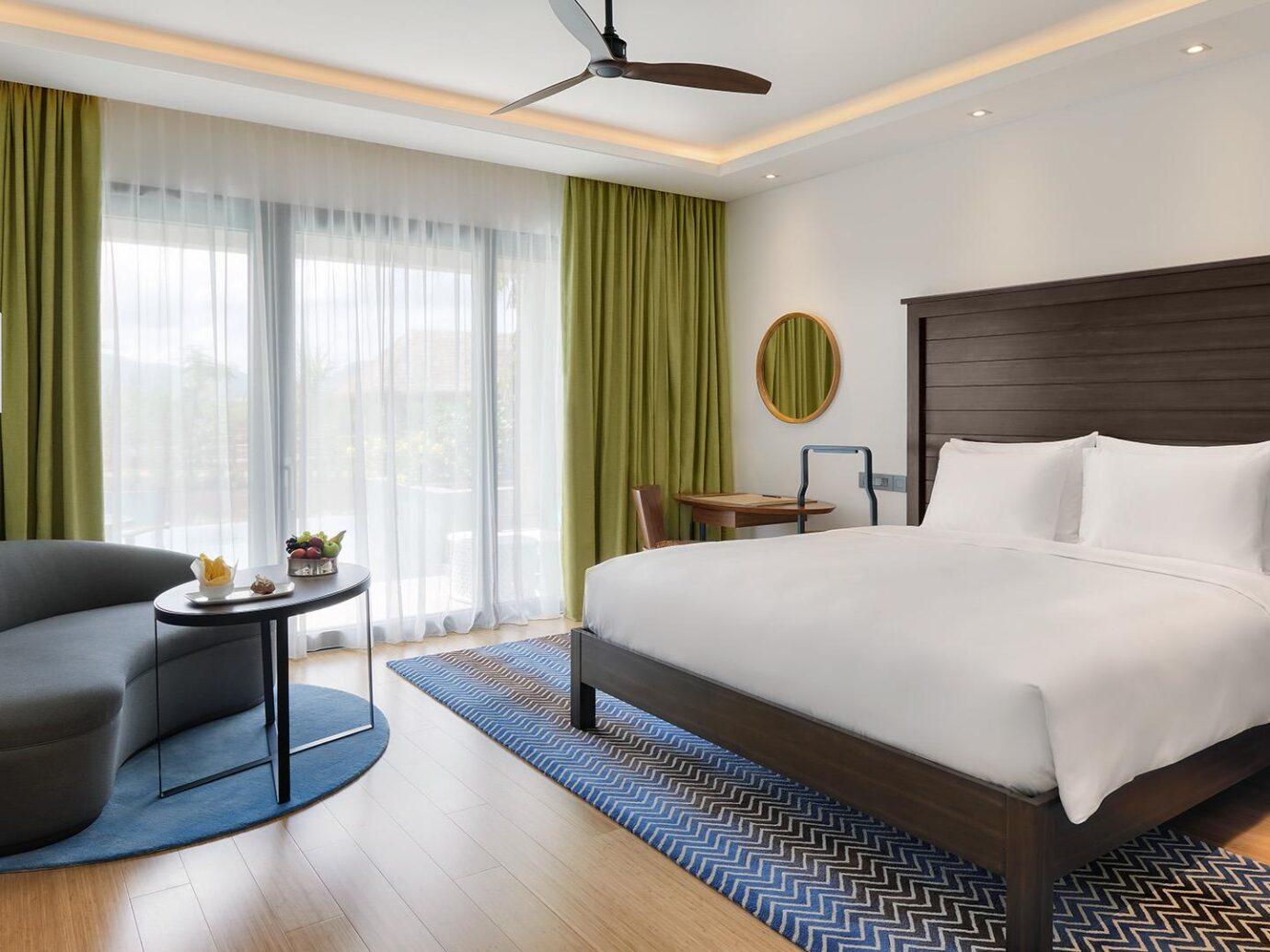 Bedroom at Cabrits Resort & Spa Kempinski