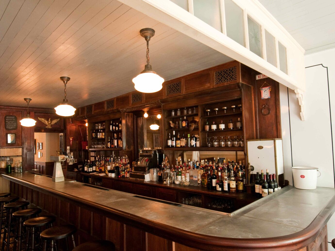 Interior of Henry Public in Cobble Hills Brooklyn