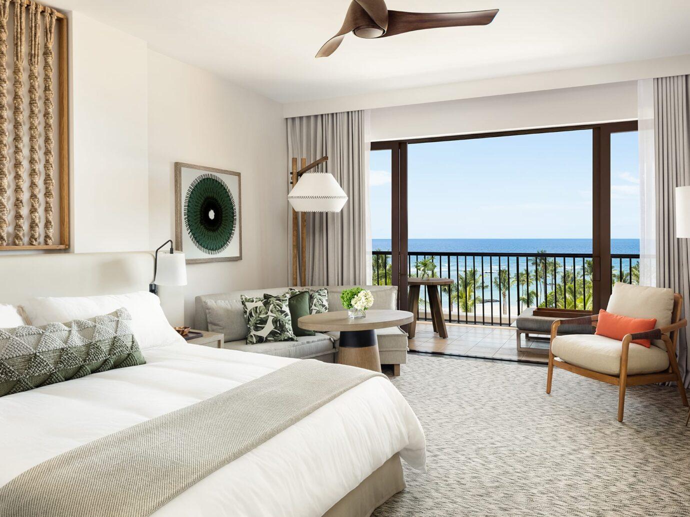 Bedroom at Mauna Lani, Auberge Resorts Collection