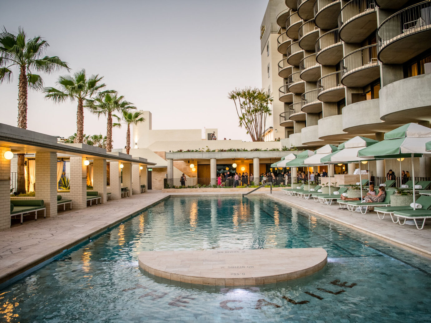 Pool at Calile Hotel