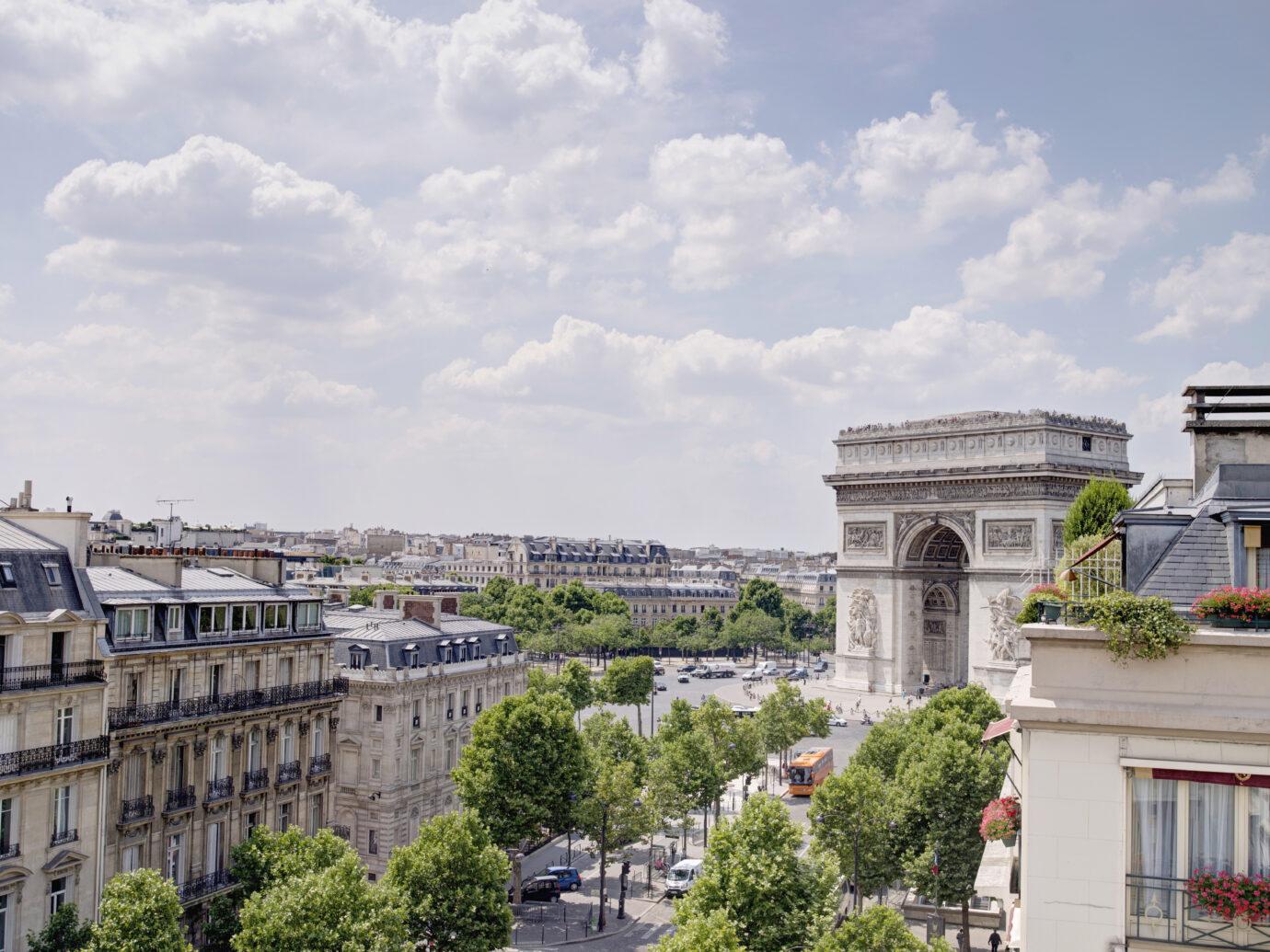 Exterior of Hotel Napoleon Paris