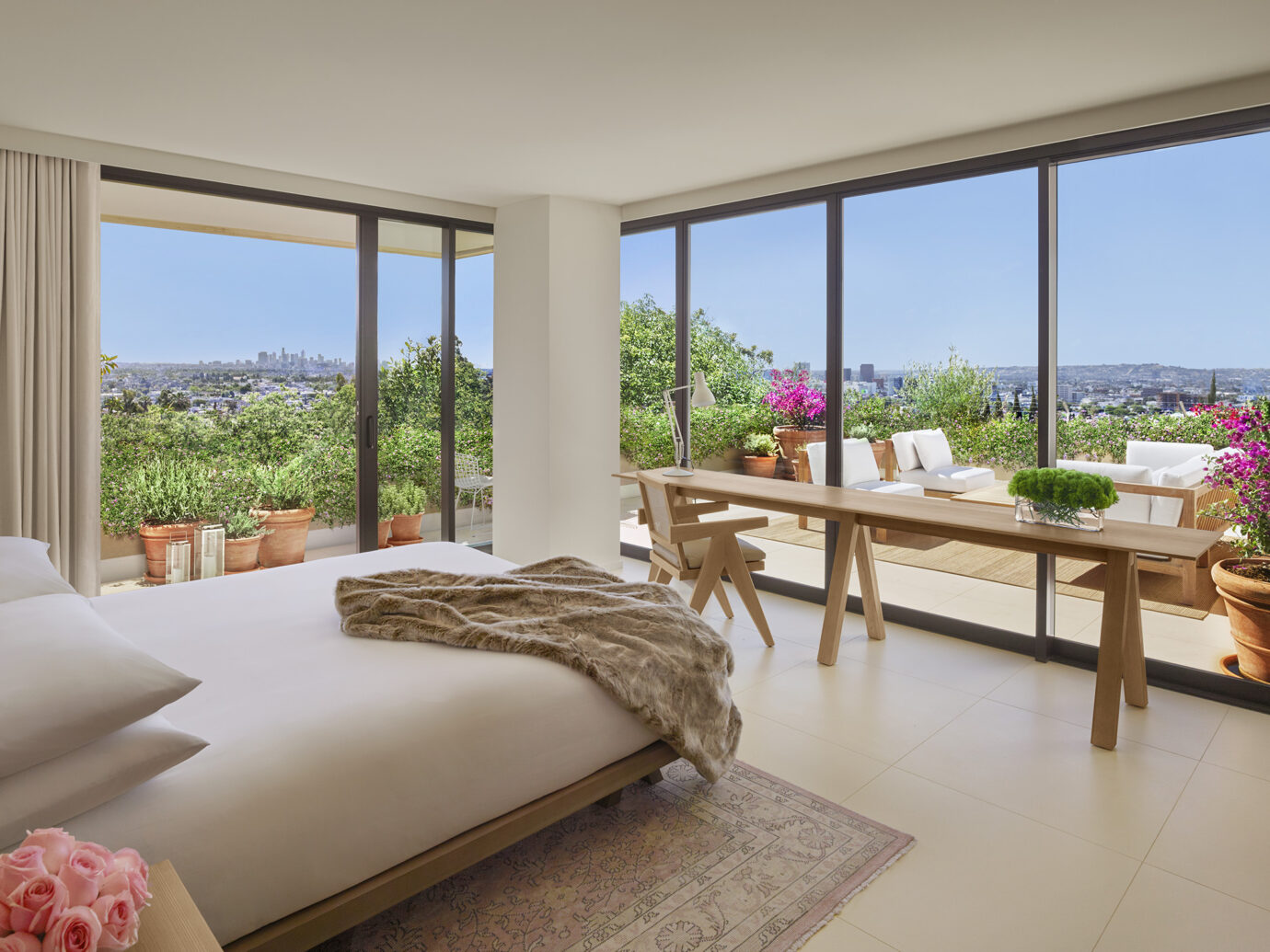 The West Hollywood Edition guest room