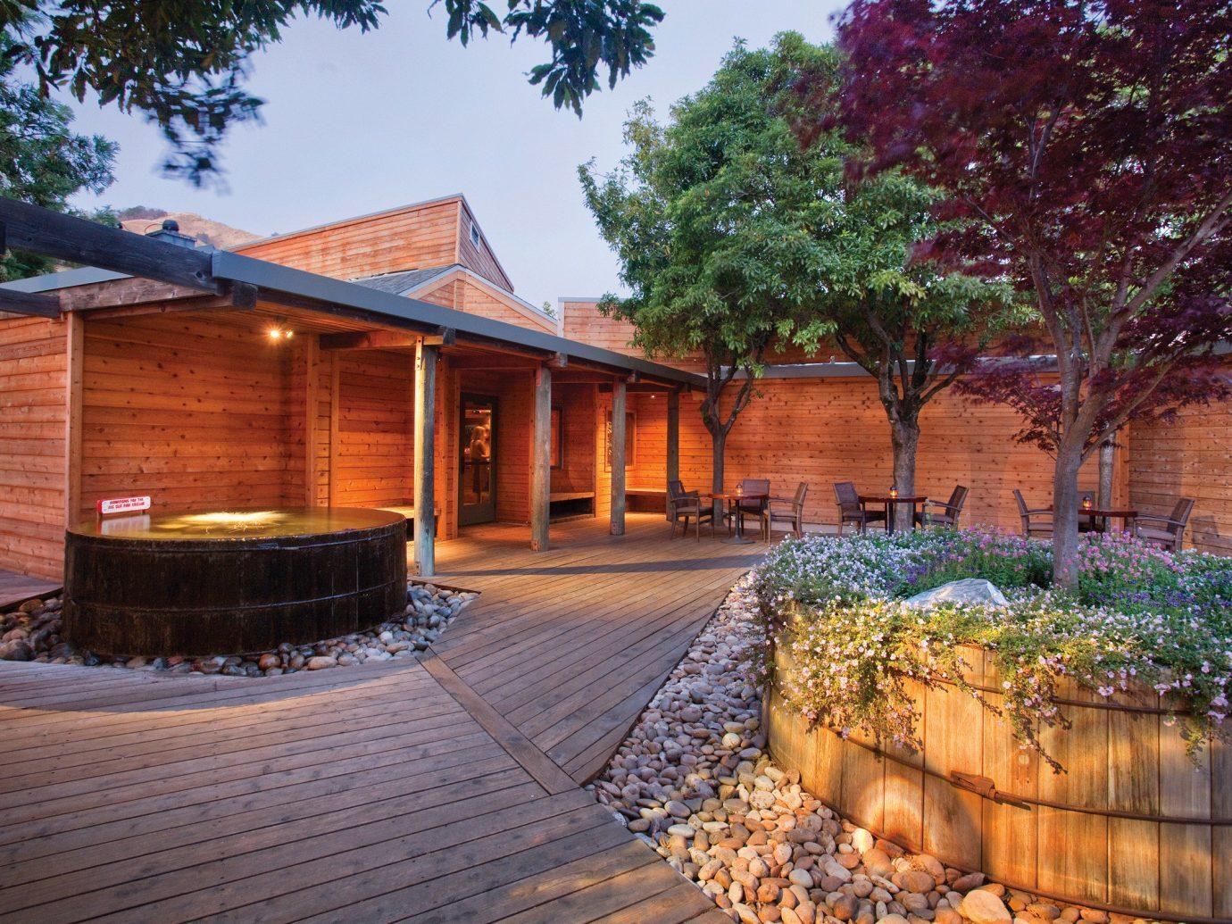 Courtyard at Ventana Big Sur