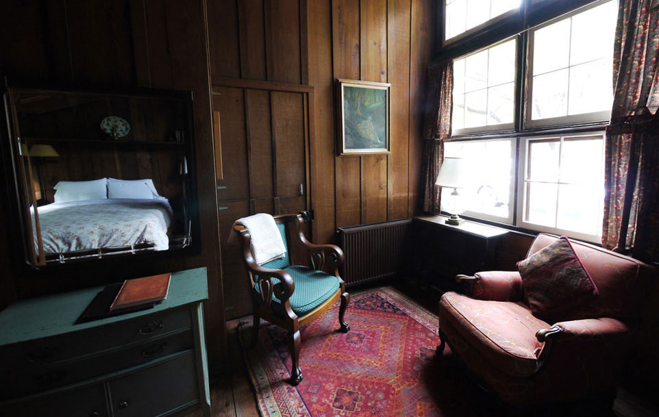 Bedroom at Deetjen's Big Sur Inn