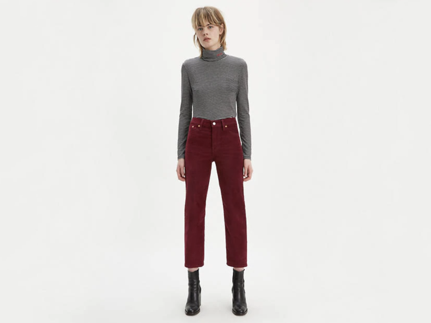 Women's Wedgie Fit Straight Corduroy Pants