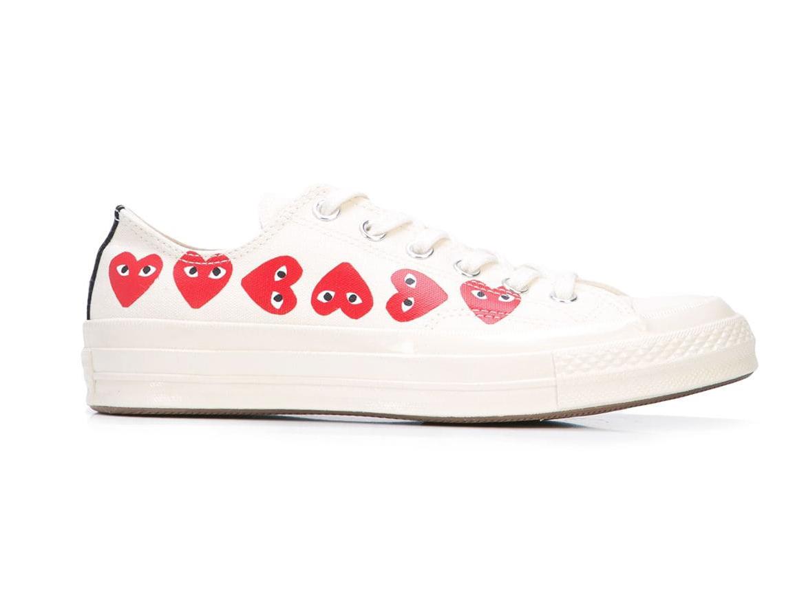 Comme des Garçons Play x Converse Chuck Taylor Multi-Heart Sneakers
