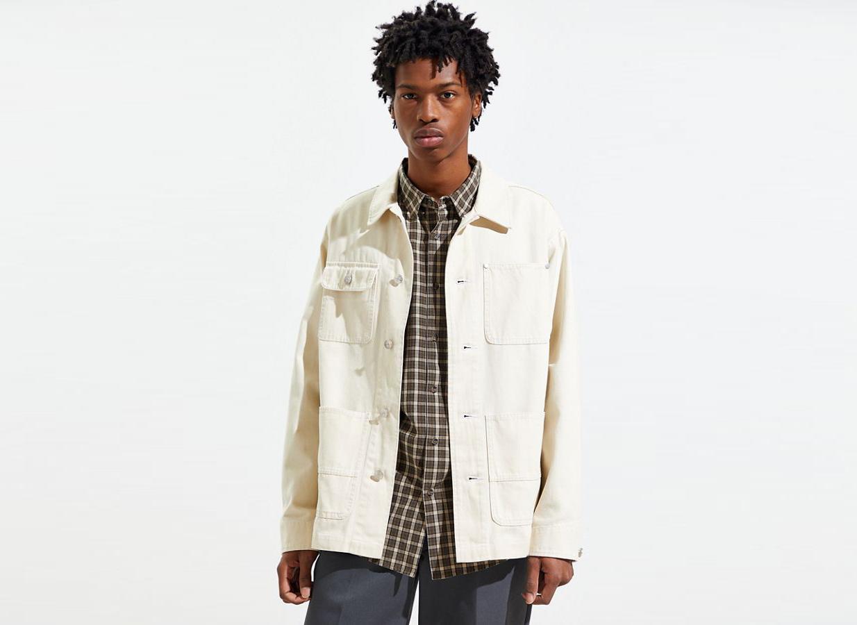 BDG Acid Wash Chore Jacket
