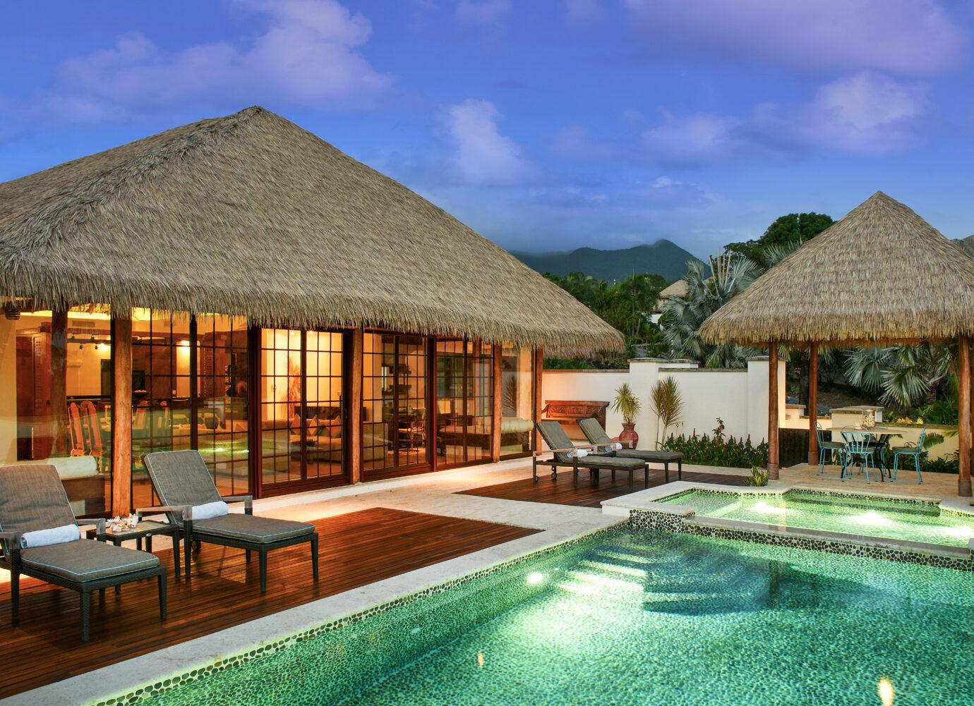 Pool at Paradise Beach Nevis
