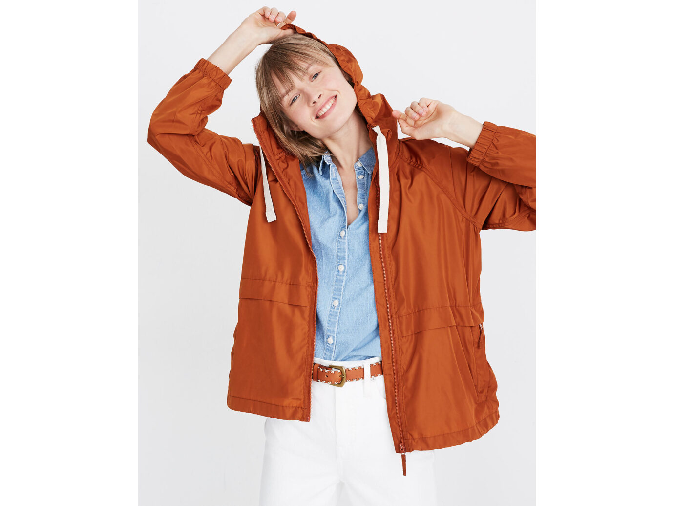 Madewell Raincheck Packable Raincoat