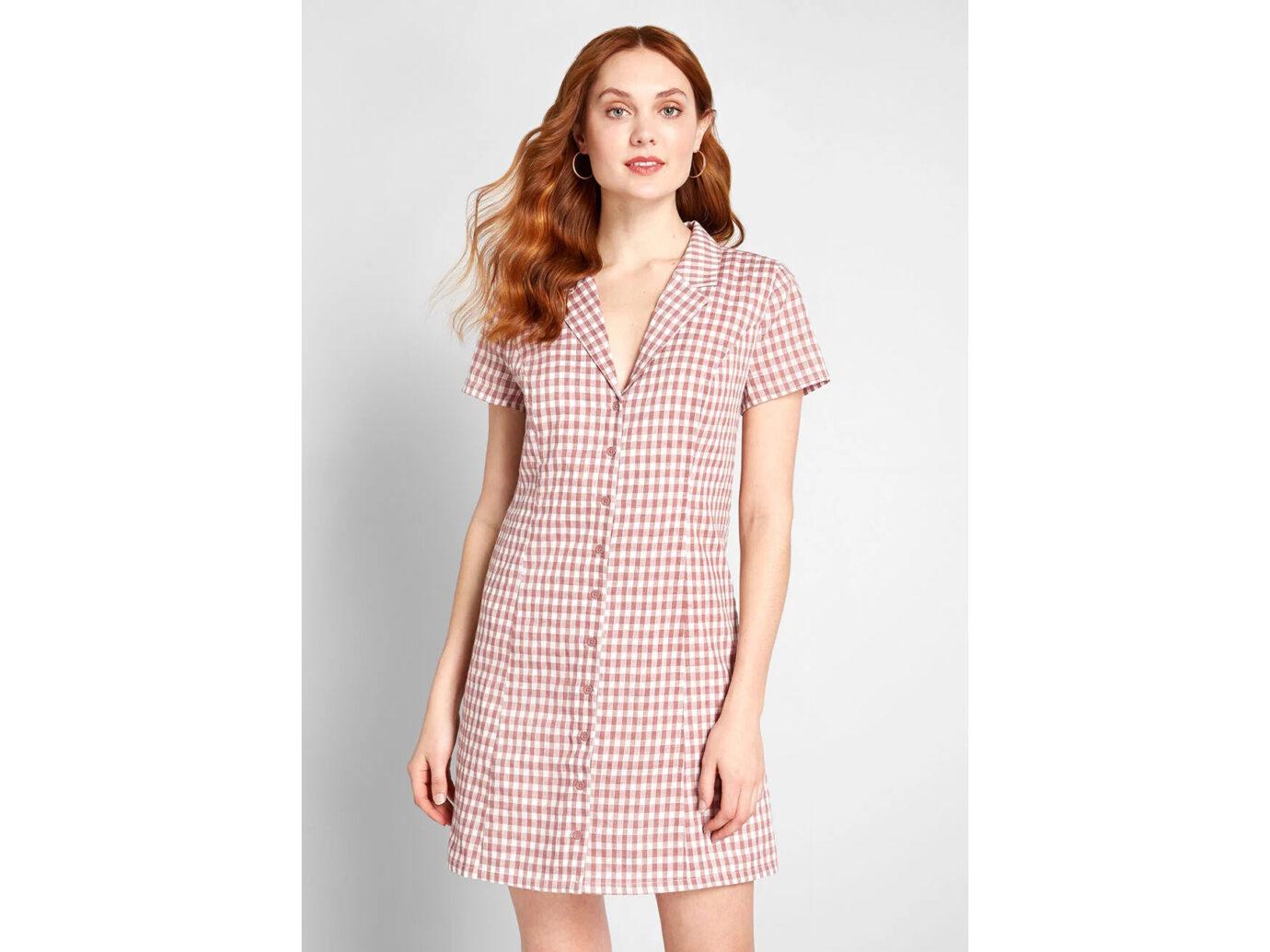 Modcloth Daytime Dynamo Shirt Dress