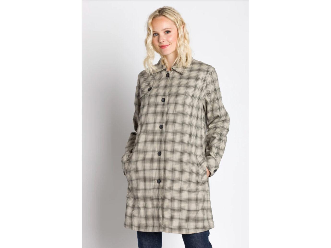 Darby | Women's Long Sleeve Packable Raincoat
