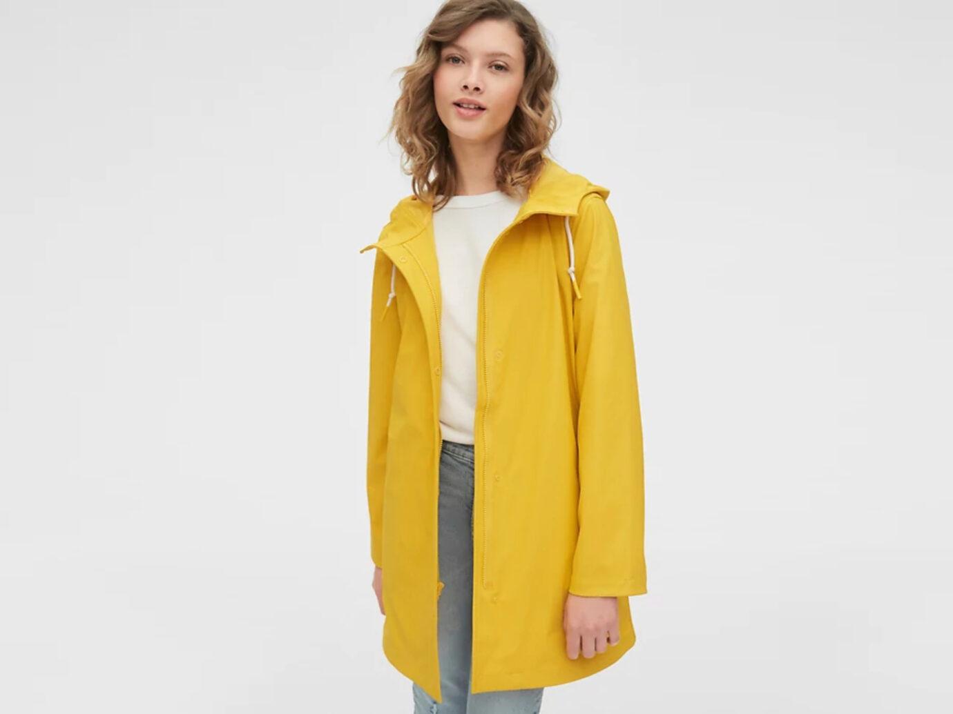Gap Upcycled Raincoat