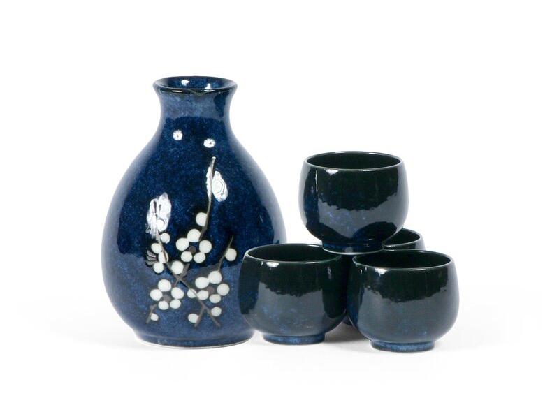 Dorah Blossoms Sake Set