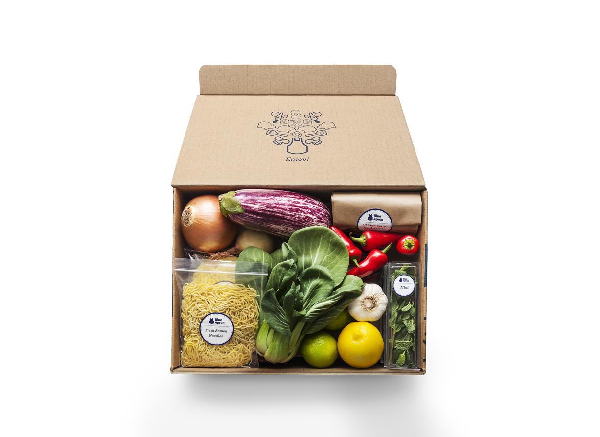 Blue Apron Meal Kit Subscription