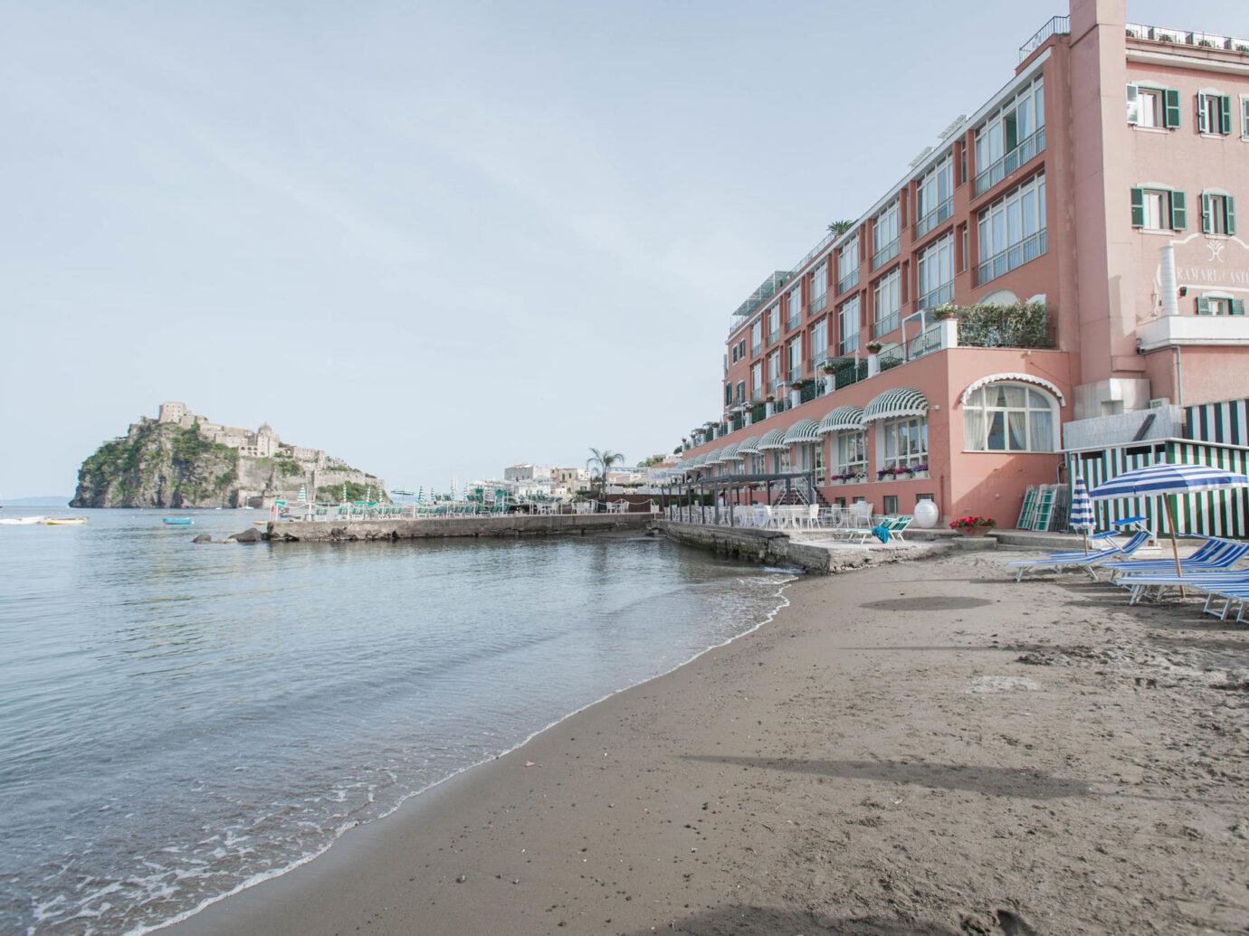 Grounds at the Miramare e Castello Hotel - Oyster