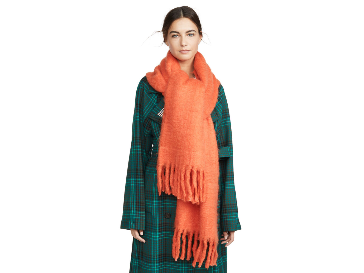 Rebecca Minkoff Woven Blanket Scarf
