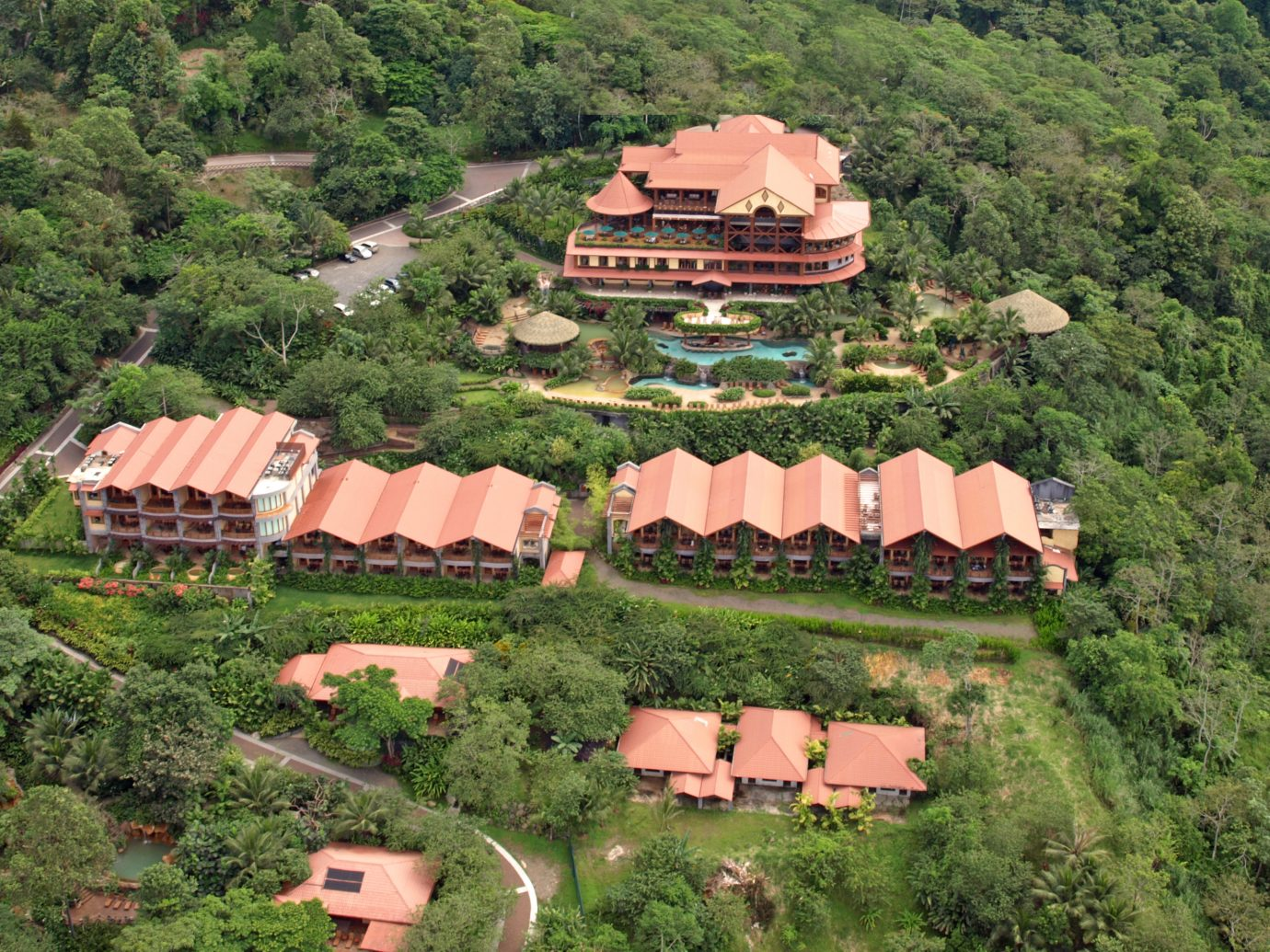 Ariel view of The Springs Costa Rica