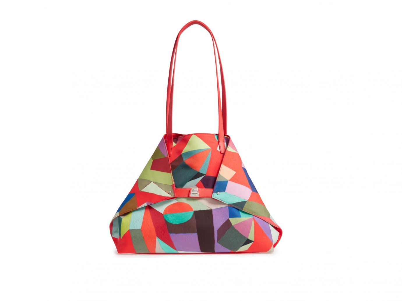 Akris 'Medium AI' Print Shoulder Tote