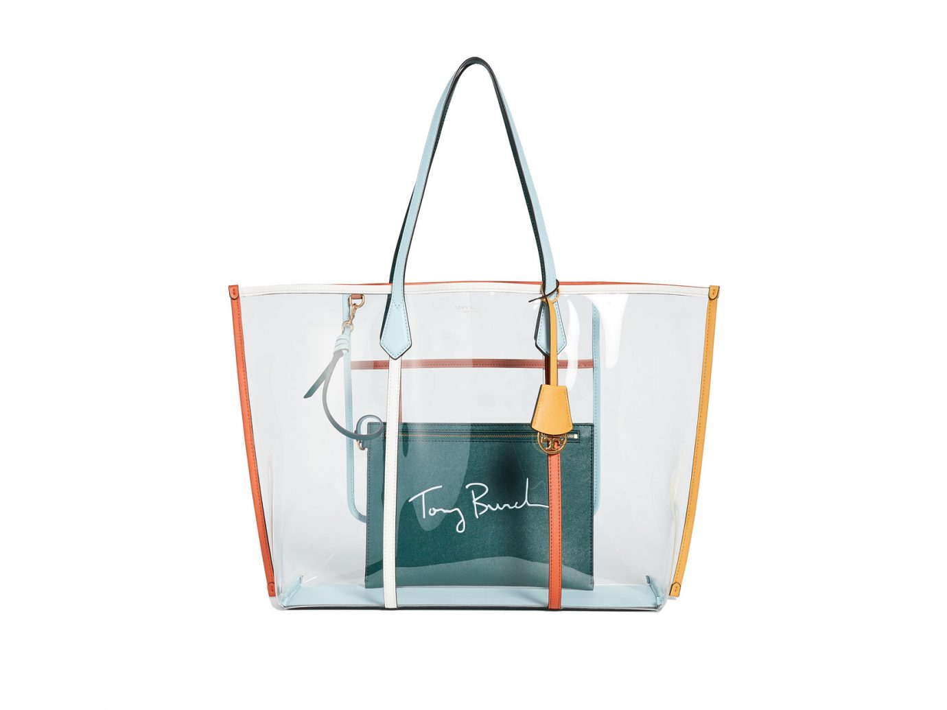 Tory Burch Perry PVC Tote Bag