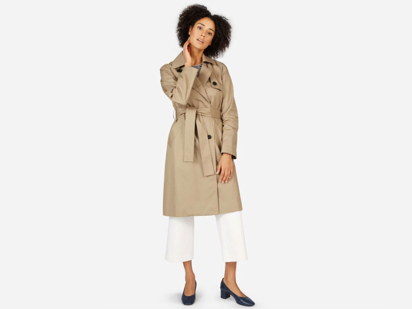 Everlane The Drape Trench Coat