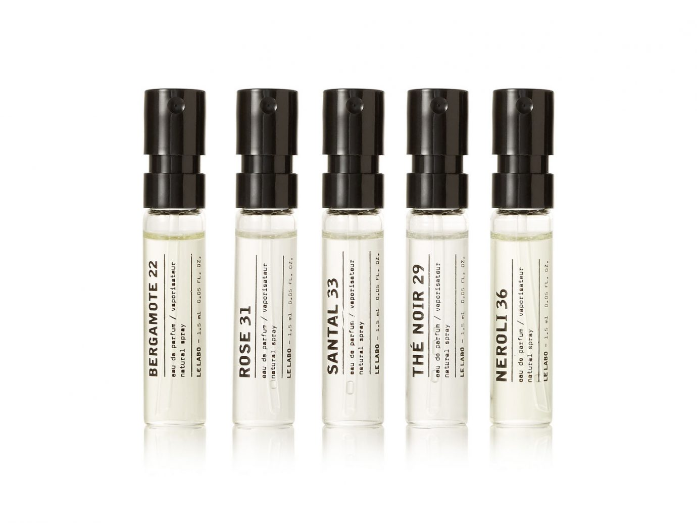Le Labo samples Discovery Set