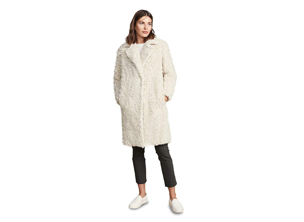 Vince Women's Shaggy Coat