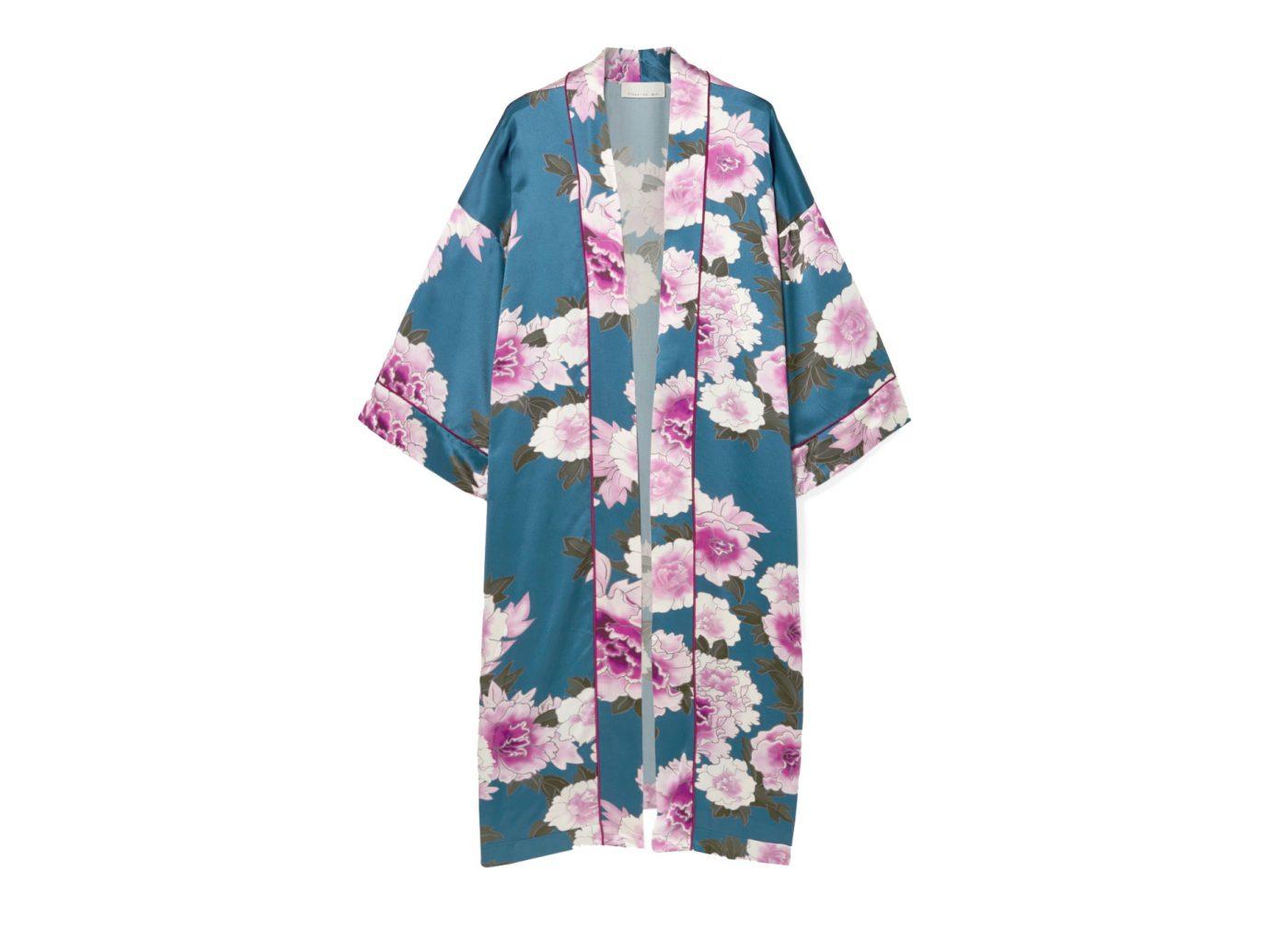 Fleur Du Mal Floral-print silk-satin robe