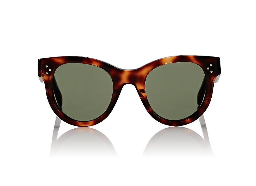 Celine Rounded Cat-Eye Sunglasses