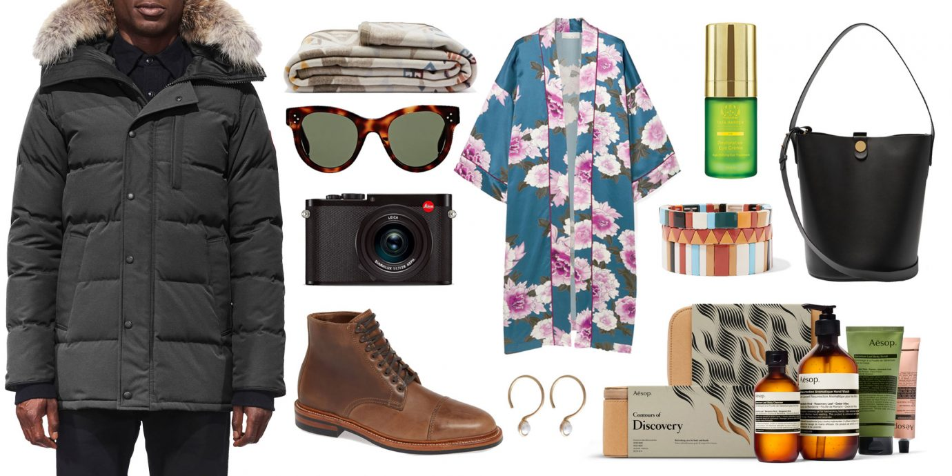 a collage of the gifts to splurge on this year