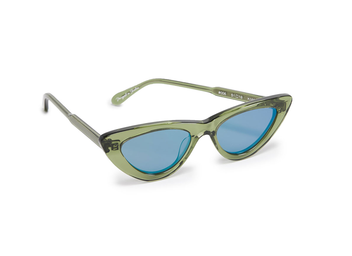 Chimi cat eye Sunglasses kiwi
