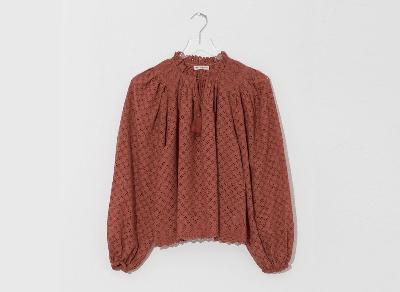 Ulla Johnson Umber Siarah Blouse