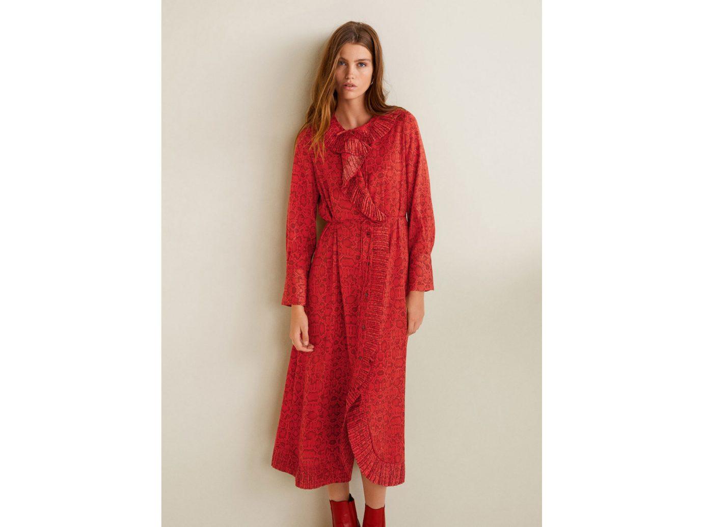 Mango Snake print gown