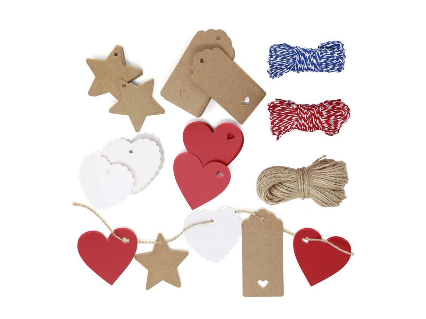 Paper Gift Tags with Twine