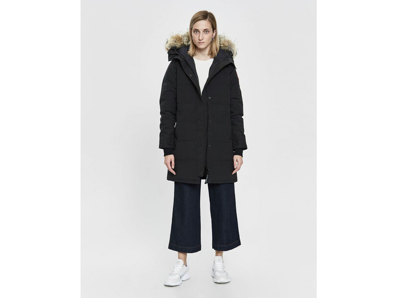 Canada Goose Shelburne Down Parka in Black