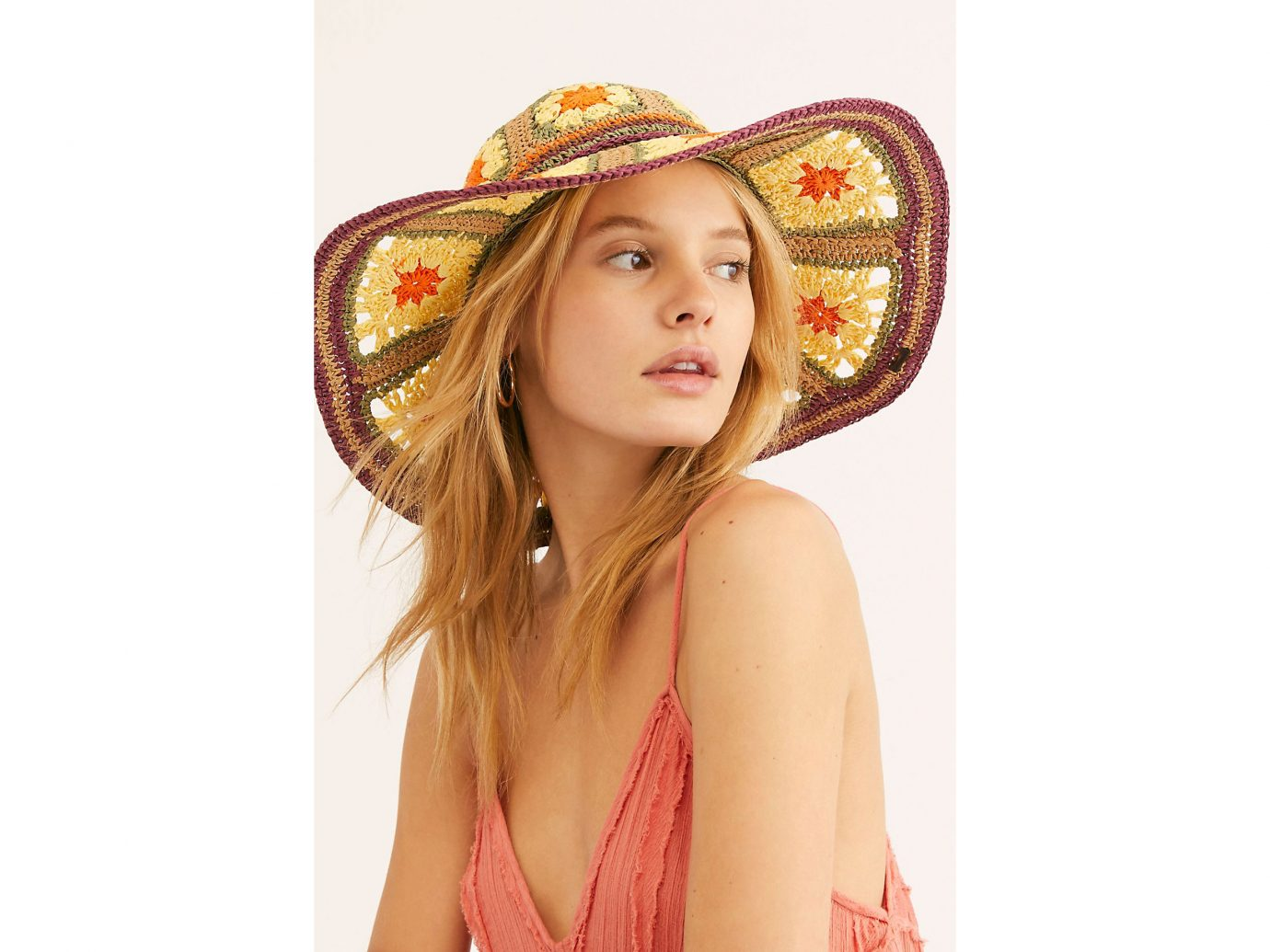 Free People Summer Of Love Straw Hat