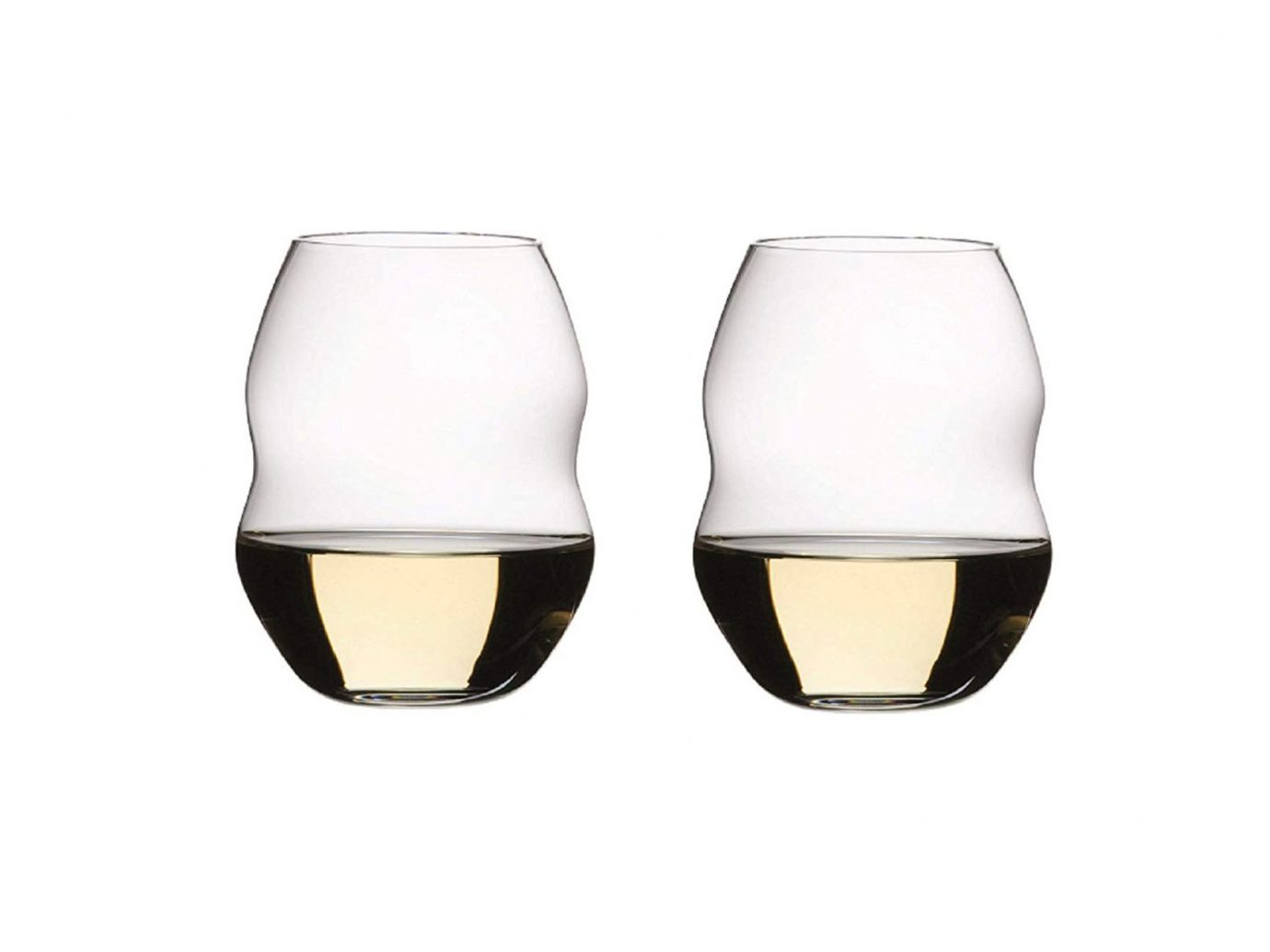 Riedel Swirl White Wine Glasses